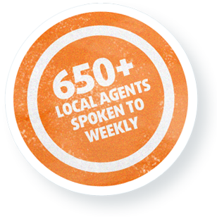 650+ Local Agents Spoken to Weekly